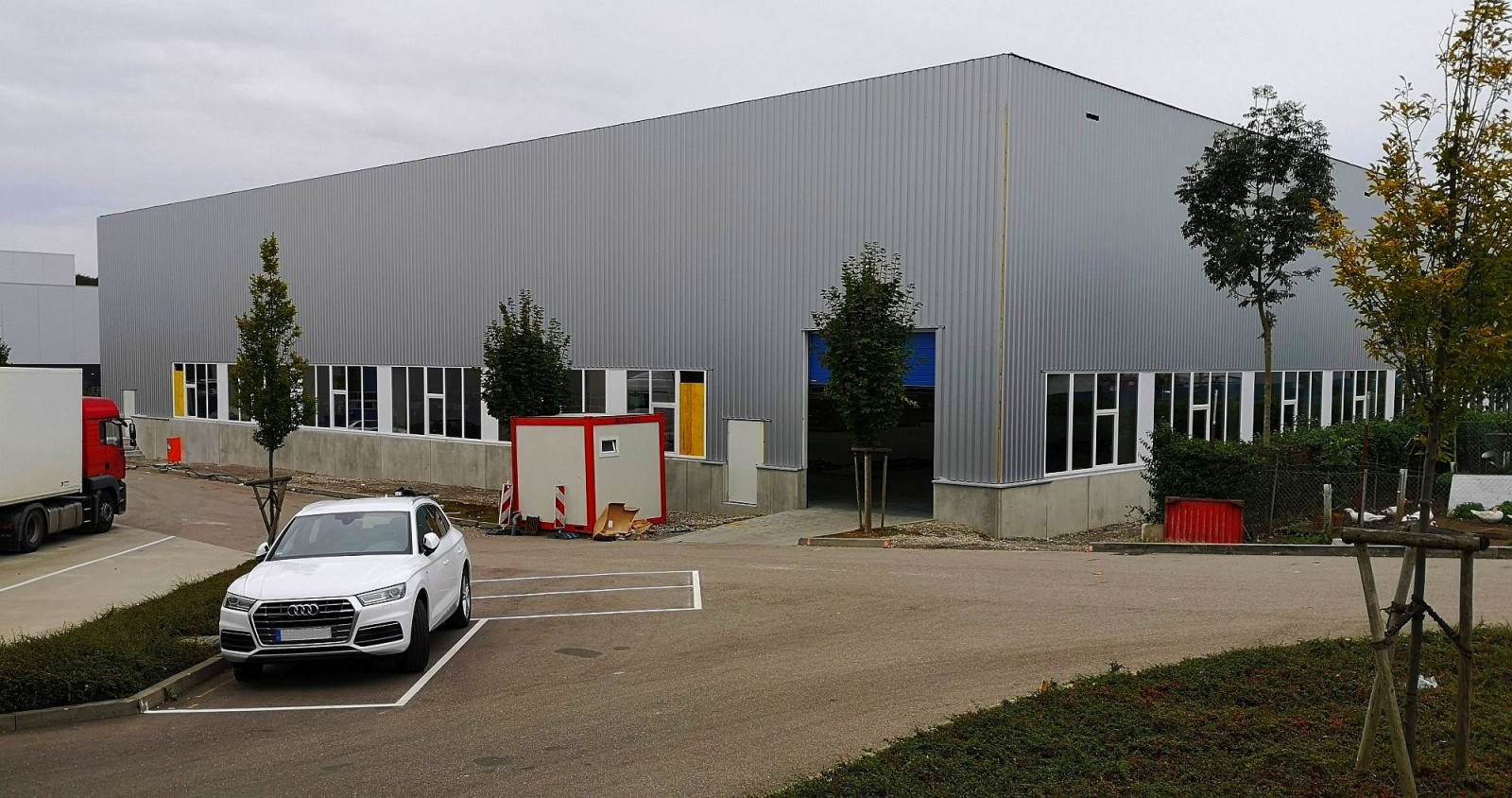 New logistics hall IDEAL-PACK with 5,800 sqm